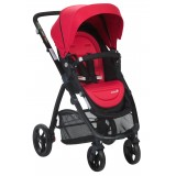 SAFETY 1ST VISTO 4 WHEEL STROLLER RED