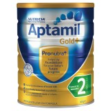 Aptamil Gold+  BABY FORMULA STEP 2 Follow-On Formula 6-12 Months 900g