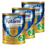 Aptamil Gold+ BABY FORMULA STEP Step 2 x3 Cans 爱他美金装二段 X3罐直邮中国