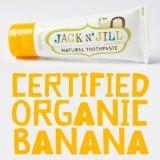 Jack N' Jill Banana, Natural Toothpaste 50g/1.76oz x 6