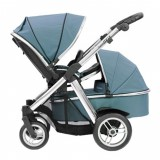 Oyster Max Pram Stroller for  Newborn Baby infant  with carrycot  vogue teal