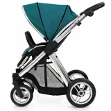 Oyster Max Pram Stroller for  Newborn Baby infant   as a single seat vogue teal