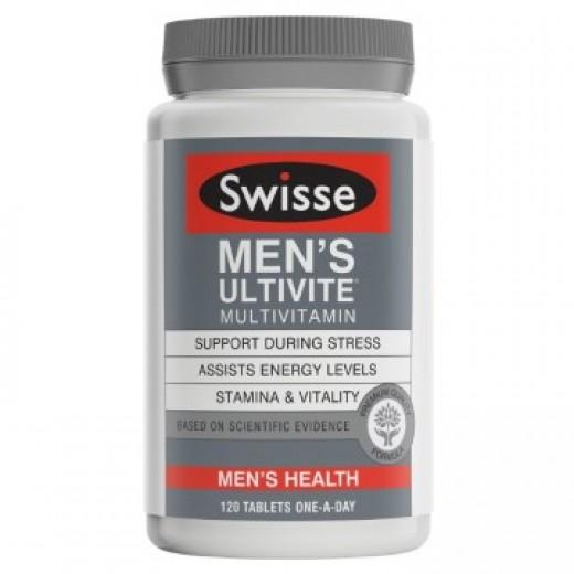 Swisse Men's Ultivite Multi-Vitamin Tab X 120