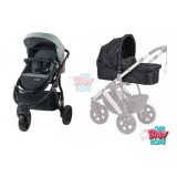 SAFETY 1ST WANDERER 3 WHEEL STROLLER & BASSINET PACKAGE