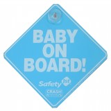 SAFETY 1ST Baby On Board Sign - The Original Blue