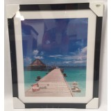 "3 PCS PHOTO FRAME ITEM NO.  HF35BLK A3/8""X12"""
