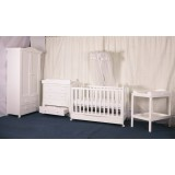 BABYWORTH BW02 Classic Cot Change Table Chest Robe Mattress Pad PACKAGE