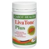 Cabot Health LivaTone Plus With Turmeric 240 Capsules
