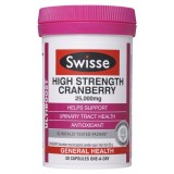 Swisse Ultiboost High Strength Cranberry 25,000mg 30 Capsules