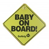 SAFETY 1ST Baby On Board Sign - The Original Yellow
