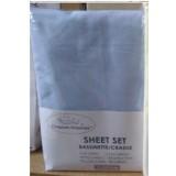 Heavenly Dreams 3 pcs SHEET SETS. Fabric: Cotton COLOR:Blue