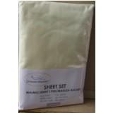 Heavenly Dreams 3 pcs SHEET SETS. Fabric: Cotton COLOR:Yellow